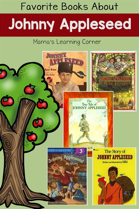 favorite books  johnny appleseed mamas learning
