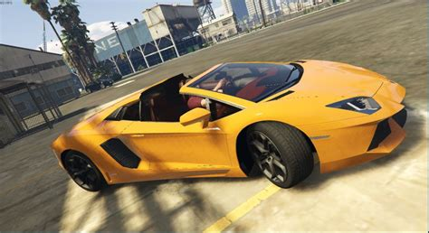 Bmw I8 Roadster Modification by Gta 5 Lamborghini Aventador Roadster V1 Mod Gtainside