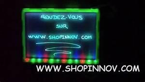 Tableau Lumineux Message : tableau lumineux youtube ~ Teatrodelosmanantiales.com Idées de Décoration