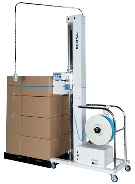 strapack   portable horizontal pallet strapping machine