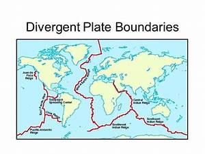 Mountain Belts formed at Divergent and Convergent ...