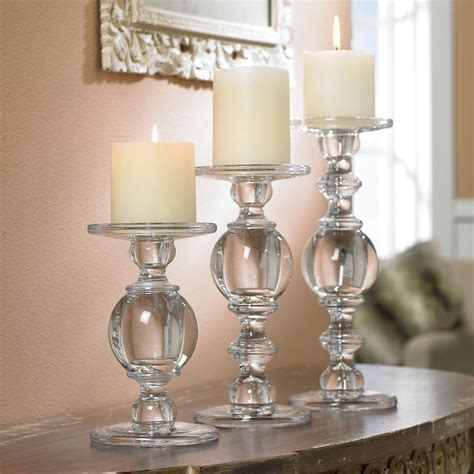 top  glass pillar candle holders  stand   style