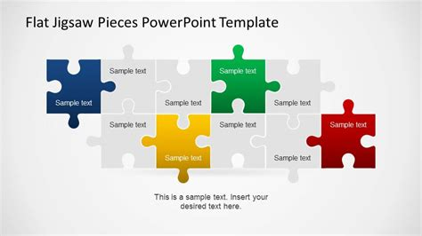 puzzle piece powerpoint template  highest quality