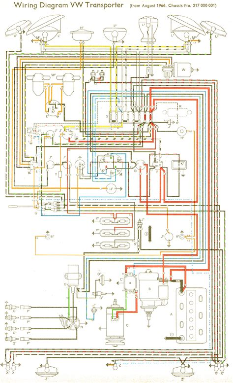 Vw Bu Diagram by Vw Wiring Diagram