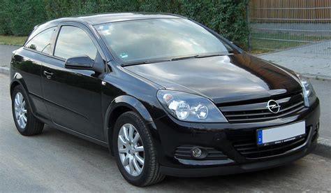 vauxhall astra 2007 2007 opel astra h gtc pictures information and specs
