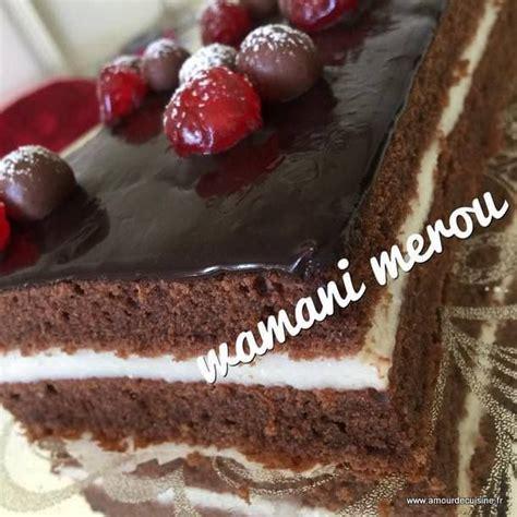 gateau avec creme dessert gateau moelleux au chocolat a la creme amour de cuisine