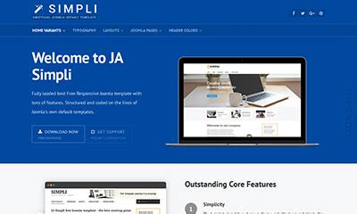 Best Template Free Joomla 3 7 0 by Responsive Joomla Templates Joomla 2 5 Joomla 3