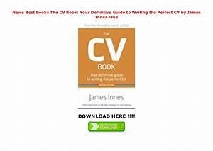 News Best Books The Cv Book  Your Definitive Guide To