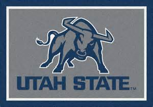 Spillguard Carpet Pad by Utah State Aggies Area Rug Ncaa Aggies Area Rugs