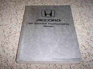 1991 Honda Accord Electrical Wiring Diagram Manual Se Lx