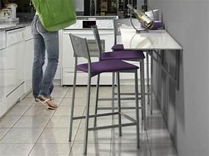 Table Pour Petite Cuisine : table murale pour une cuisine plus sympa ~ Dailycaller-alerts.com Idées de Décoration