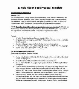 Book proposal template 16 free sample example format for Fiction book proposal template