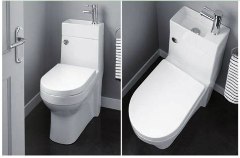 Bathroom Commode Accessories by Aquarius Combination Toilet Basin Spacesaver Wc Aqsswc