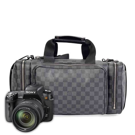 louis vuitton damier graphite icare camera bag luxity
