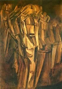 Sad Young Man On A Train - Marcel Duchamp Wallpaper Image