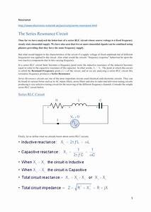 Pictures On Resonant Circuit Definition Of Resonant