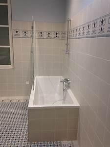 Carreaux Adhesif Salle De Bain : salle de bain type carreaux de ciment entreprise salle de bain ~ Melissatoandfro.com Idées de Décoration