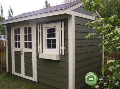 shed solutions edmonton 6 x 10 garden sheds the whistler shed solutions