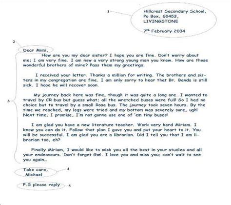 informal letter writing english writing pinterest