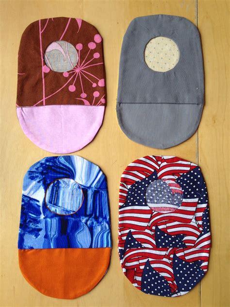 printable pattern  ostomy bags instructions   ostomy bag diy bag