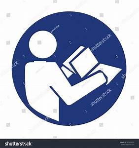 Manual Book Symbol Read Before Use Stock Vector 267458705