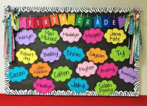 Back to School Bulletin Board Ideas Kindergarten
