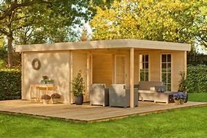 Gartenhaus Mit Vordach : 28 mm gartenhaus 400x620 cm holzhaus mit berdachung ~ Articles-book.com Haus und Dekorationen