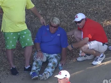 John Daly Collapses At Champions Tour Event With Knee Injury