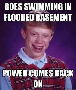 flooded basement meme - 100 images - backyard flooded ...