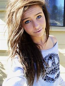 Pix For > Teenage Girl With Brown Hair And Blue Eyes ...