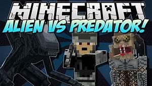 Alien Vs Predator Mod For Minecraft 1710 Minecraft
