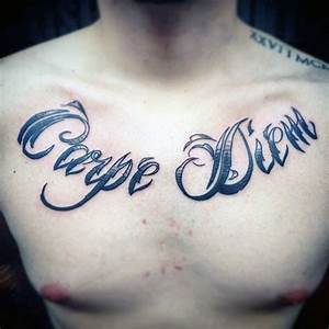 70 Carpe Diem Tattoo Designs For Men - Seize The Day Ink Ideas
