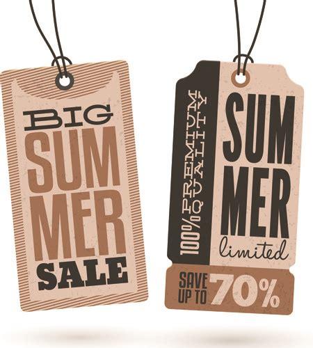 summer discount offer  vector