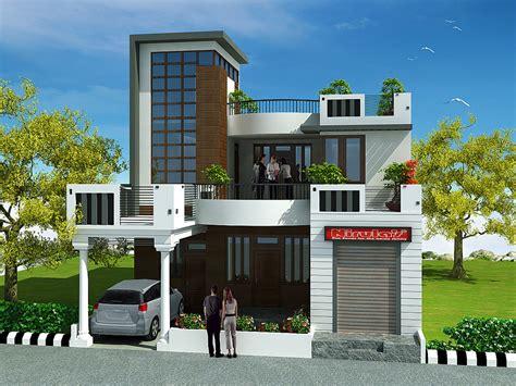 3 Bedrooms Duplex House Design in 220m2 (10m X 22m)