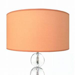 Lampenschirm 40 Cm : lampenschirm apricot rund 40 x 20 cm online shop direkt ~ Pilothousefishingboats.com Haus und Dekorationen