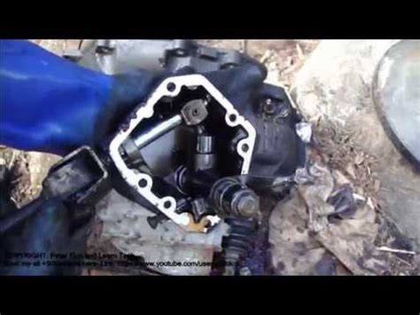 vauxhall vectra vxr how to do vauxhall opel astra gearbox disassembly youtube