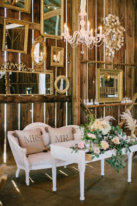 modern country chic decor wedding inspiration modern country chic pretty happy wedding essense designs