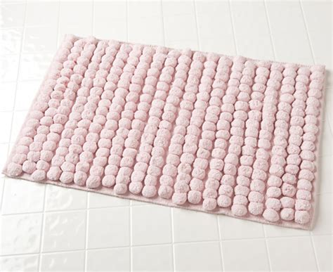 pink bathroom rugs jovi home axis bathmats