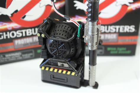 unboxing  ghostbusters miniature proton pack