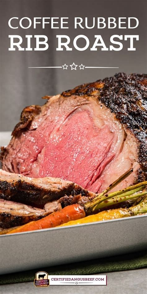 Cover and refrigerate for 8 hours or overnight. Make Coffee Rubbed Rib Roast for an unforgettable roast ...