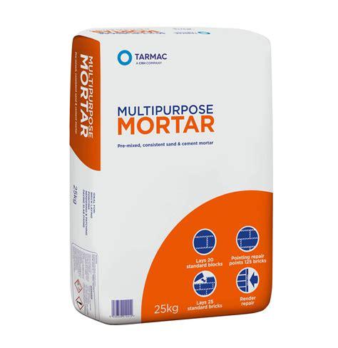 tarmac ready   multipurpose mortar kg bag