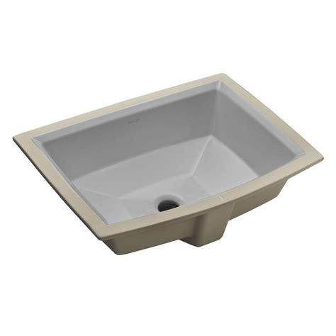 kohler archer rectangular undermount sink kohler archer vitreous china undermount bathroom sink with