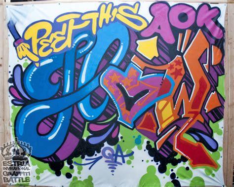 Graffiti Queen : Estria Invitational Graffiti Battle Ny 2011