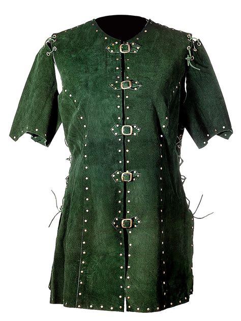 warrior maid leather tunic maskworldcom