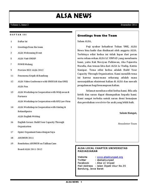 ALSA News Vol.1, Issue 2 by ALSA LC Unpad - Issuu