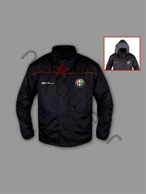 alfa romeo jacke alfa romeo fan windbreaker jacket