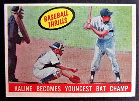 Find out which are the most important in the hobby and the best way to add some to your collection today! 1959 Topps Al Kaline Detroit Tigers Baseball Card Near ...