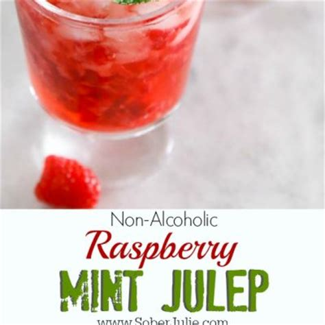 mint julep punch recipe drinks archives sober julie