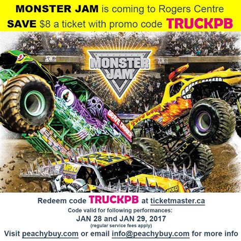 monster truck show discount code 100 ticket prices for monster truck show monster