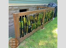 Make Your Repurposed Wine Bottle Fence 1001 Gardens